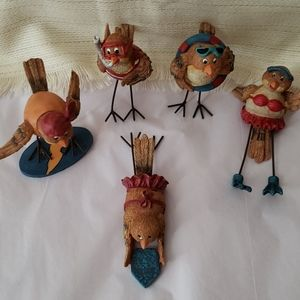 Adorable Decorative Summer Birds!